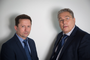 John Curley (left) and Stephen Norgate have joined Conex Bänninger.