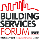 The Building Services Forum will be taking place on Thursday 8 February 2018.