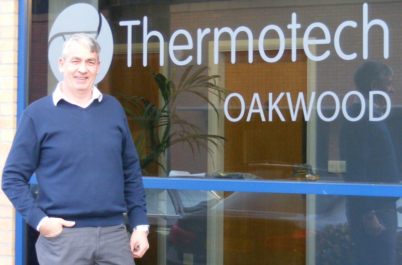 Thermotech chief executive, Dave Prendergast.