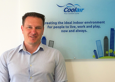 Matthew Gower, sales and design engineer at Coolair Equipment.