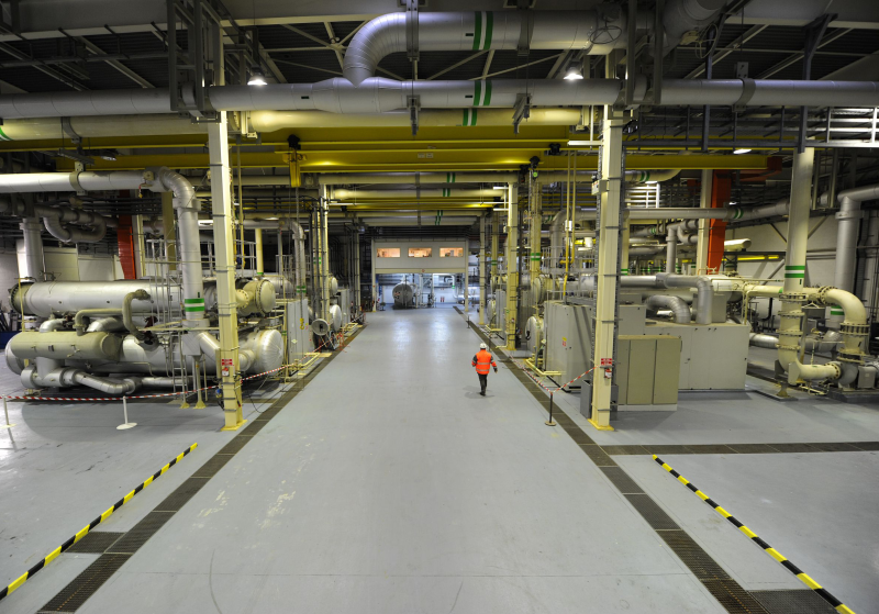 Channel Tunnel stays cool and saves on energy