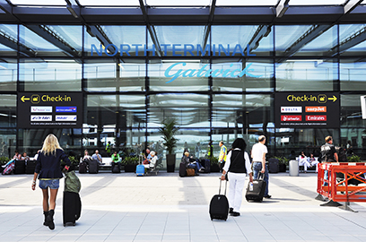 Gatwick's buildings are on their way to becoming carbon neutral.