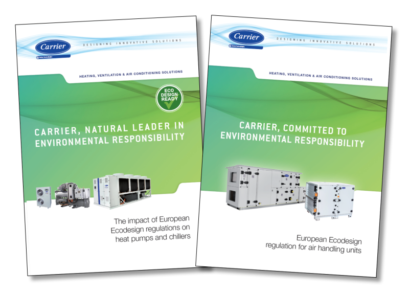 New EcoDesign guide for chillers, heap pumps and AHUs