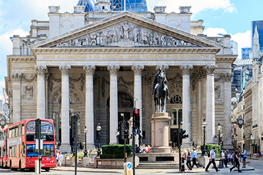 The refurbished offices are part of The Royal Exchange in the City of London.