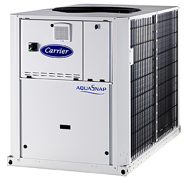 Carrier's AquaSnap 61AF air-to-water heat pump.