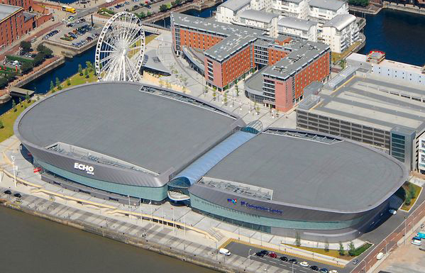 The M&S Bank Arena.