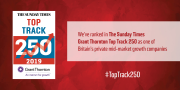 Smith Brothers has been included in the Sunday Times Grant Thornton Top Track 250.
