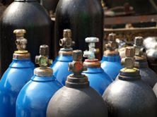Leaking acetylene cylinder blamed for explosion