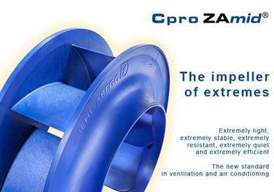 Ziehl-Abegg High Efficiency Cpro Impeller