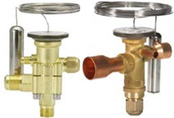 Thermostatic expansion valves TE 5 - TE 55 and TGE for R407F and R407A