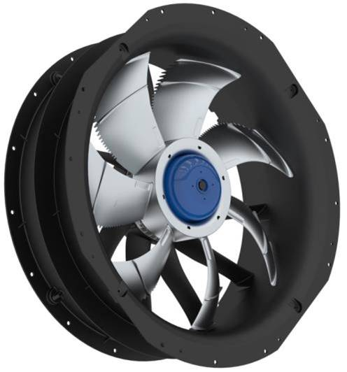 Ziehl-Abegg ZAplus Energy-Saving Axial Fan