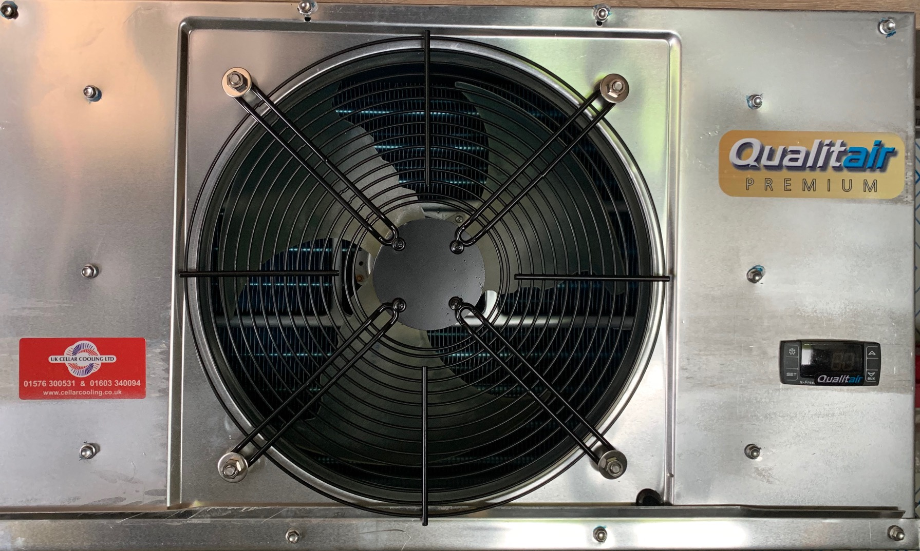 Qualitair Premium Cellar Cooler launched.