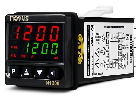 NOVUS N1200 controller: safety and high performance in one product